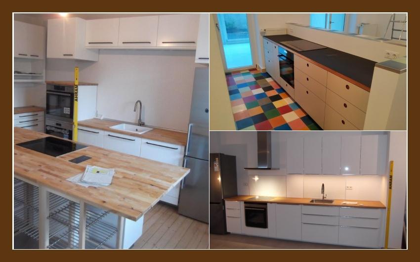 SA Küchenmontage - fachlicher Aufbau von Küchen in Essen und Umgebung